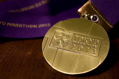 東京マラソン2013完走メダル
