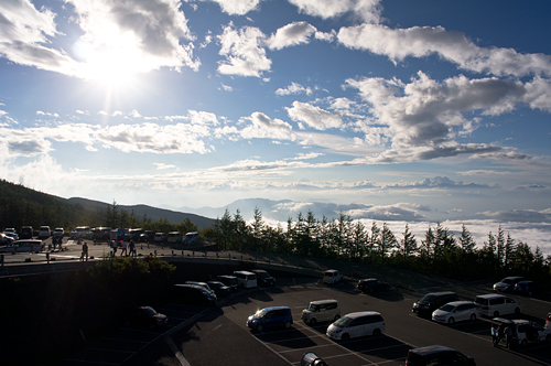 富士山五合目駐車場