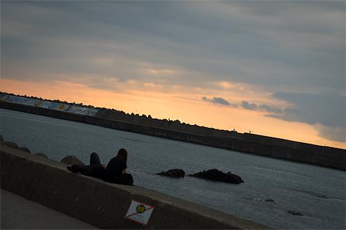 黄昏日本海