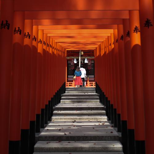 神戸生田神社の稲荷神社