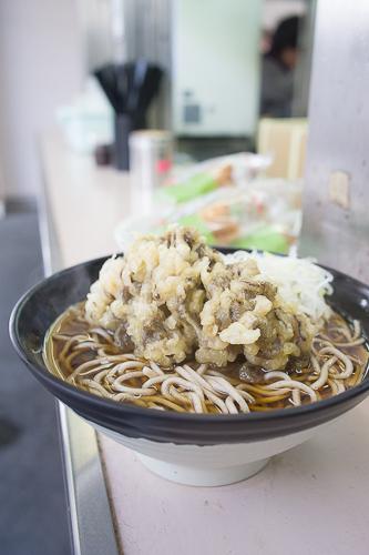 高崎駅 たかべん 舞茸天そば